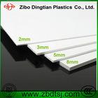 Panneau blanc de mousse de PVC de couleur fabriqué en Chine