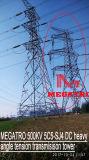 Structuur van de Transmissie van de Kring 5c5-Sj4 van Megatro 500kv de Dubbele Hoekige