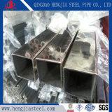 AISIの磨かれた正方形のステンレス鋼の管304