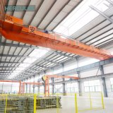 China-elektrischer doppelter Fernsteuerungsträger-Laufkran mit Hebevorrichtung