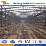 Construction de structure métallique d'entrepôt d'atelier de fabrication de modèle