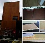 El panel de pared laminado anti-UV exterior WPC / revestimiento de la pared / panel de pared de PVC / Revestimientos