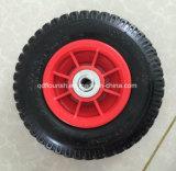 Roda de borracha 2.50-4 Insuflável pneumática com aro plástico