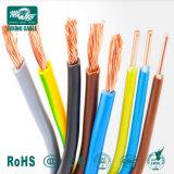 Isolation en PVC conduite sur le fil à la norme BS EN 50525-2-31, 6491X