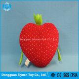 11 pulgadas de dibujos animados de buena calidad de fresas rellenas de juguetes de peluche para bebés