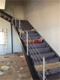 De alta calidad de materiales de construcción de acero inoxidable 304 Escalera Barandilla