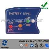 Poliéster resistente bastidor de Mylar Pi UL CSA Pegatinas de advertencia de batería de ión litio
