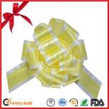 Glitter Fleuret POM-POM Tirer Bow pour mariage decoration