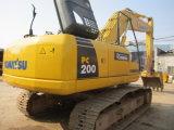 販売のための小松の中古の掘削機小松PC200-8