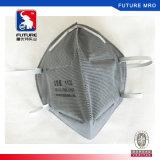 Masque de sûreté de forme plié par odeur active normale de filtre du carbone N95 anti