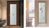 Hölzernes Korn-Farben-Aluminium eingehängte Küche-Tür