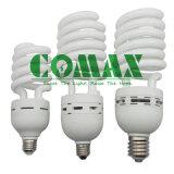 La mitad de ESL en espiral T5 Lámpara de ahorro de energía de alta potencia