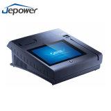 Viruta y Pin, posición de los pagos electrónicos de la tarjeta del golpe fuerte con la impresora
