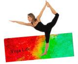 De antislip Mat van de Yoga van het Natuurlijke Rubber met Druk de Op basis van water van de Inkt