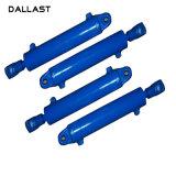 Dubbelwerkende Hydraulische Cilinders voor de Spuitbussen van het Bitumen/de Spuitbussen van het Asfalt/de Spuitbussen van de Hoogte
