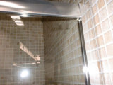 China têmpera de banho de chuveiro em vidro corrediço Compartimento Duplo