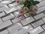 Белый классического газа керамической мозаикой Crystal Mix (СГК702)