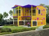 낮은 급여 Confortable 휴일 동안 사는 이동할 수 있는 Prefabricated 또는 조립식 집 별장