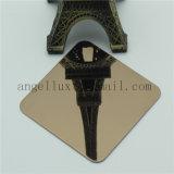 316 Rose Gold PVD Coated Color Stainless Steel Inox Miroir Taille de la feuille personnalisée par le client