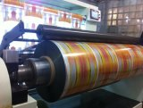 Máquina desmutadora para película metalizada de holograma