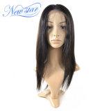 Peluca recta brasileña del cordón del pelo humano de las pelucas del pelo lleno de Remy