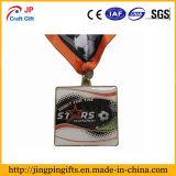 マラソンのためのカスタム高品質亜鉛合金の金属メダル