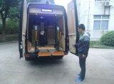 ヴァンLoading 350kgのためのセリウムによって証明される車椅子用段差解消機