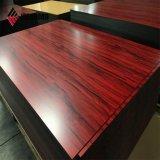 Surface de bois de polyester à haute brillance panneau composite aluminium