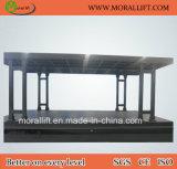 Гидровлический подъем лифта палубы двойника электрического автомобиля для домашних гаражей