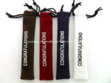 Customized Velvet Haute Qualité Pen Pouch / Bag (QR-R46)