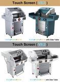 exposition de papier industrielle programmée 670mm hydraulique Allemagne de machine de découpage de haute précision de 520mm 560mm +-0.1mm