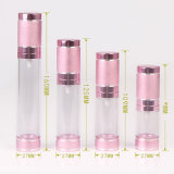 Kosmetische Flasche mit Aluminiumschutzkappe (NAB19)