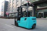 Мини-Три колеса электрический погрузчик 1,6 тонн 1,8 тонны 2 тонн аккумулятор вилочного погрузчика для продажи