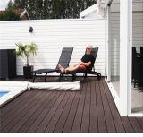 O composto de plástico de madeira Flooring WPC materiais de decoração exterior em deck