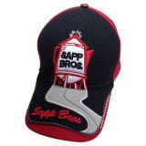 Построенная бейсбольная кепка с тяжелой вышивкой