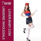성숙한 소녀 Halloween Mario 및 Luigi 복장 (L15334-1)