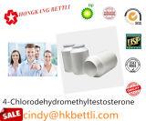 Edificio Turinabol oral esteroide 4-Chlorodehydromethyltestosterone del músculo con salida segura y rápida