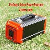 Piccolo generatore esterno domestico portatile con il carico di energia solare