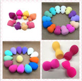 Different Colors를 가진 화장품 Sponge Makeup Sponge Gourd Sponge