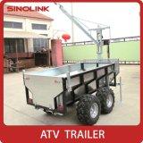 ATV (b) 목제 로그 트레일러 모형 Tb1000