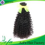 capelli brasiliani del Virgin 7A dell'arricciatura umana dei capelli dalla Cina