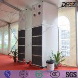 Kompakter Typ Fußboden, der lärmarme industrielle Kühlvorrichtung-kommerzielle zentrale Klimaanlage steht