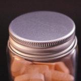 Qualität kundenspezifische Kapsel bernsteinfarbige GlasMedcine Flasche