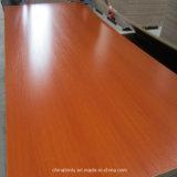 Panneau/contre-plaqué de mélamine de couleur de différence de faisceau de peuplier de taille normale pour des meubles