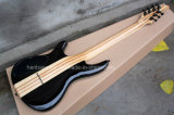 Hanhai Musique / 7 cordes de guitare électrique Mayones bleu