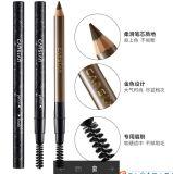 Crayon à sourcils pour le maquillage avec le pinceau sur une extrémité