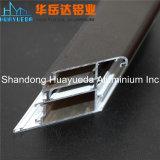 L'aluminium a expulsé profil en aluminium enduit par poudre de couleur de Ral de profils