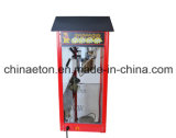 Máquina eléctrica de las palomitas con el crisol del Teflon en el color negro (ET-POP6A-2)