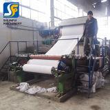 Rollo de papel higiénico de la línea de producción de máquinas de hacer decisiones/ 1100mm Jumbo el rollo de papel