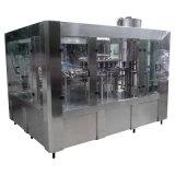 Bouteille d'eau pure entièrement automatique et le plafonnement de la machine de remplissage de rinçage
